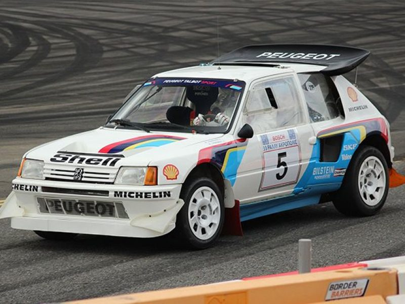 This car won only two VRC championships, but one thing highlights this car. They had 200 hp, which is very important. This car was fast, brutally fast, and proved worthy under the leadership of South Cankran and Timo Salonen, who won the championships in 86 and 85 years.