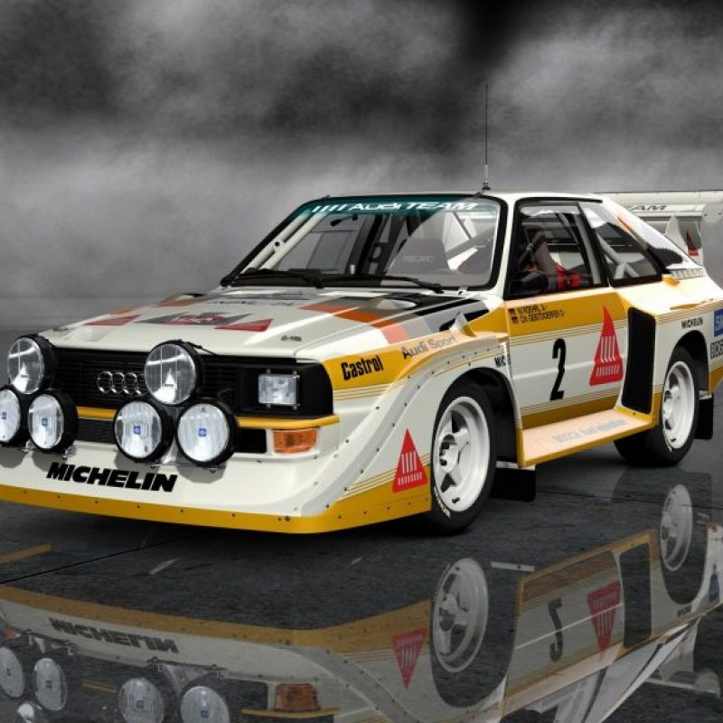 Many genuine car enthusiasts will not agree, let me explain because this car is in second place. Audi Quattro has set standards for the future of the set. Michele Mouton is the first woman ever to win the World Rally, and also the fastest woman climbing the Pikes Peak.