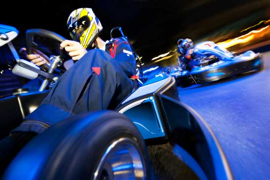 how to drift in a go kart
