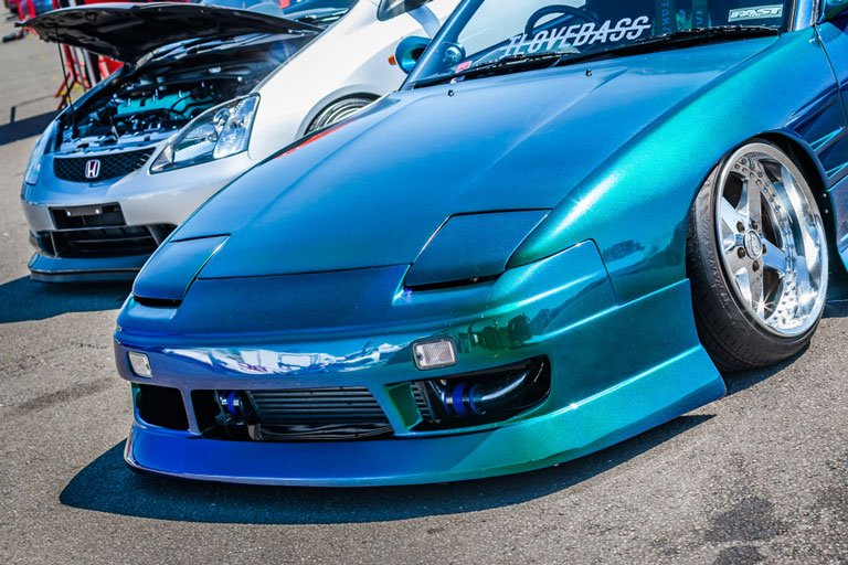 modified nissan 240sx drift car