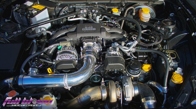 Full Blown SUBARU BRZ Stage 1 Base Turbo Kit